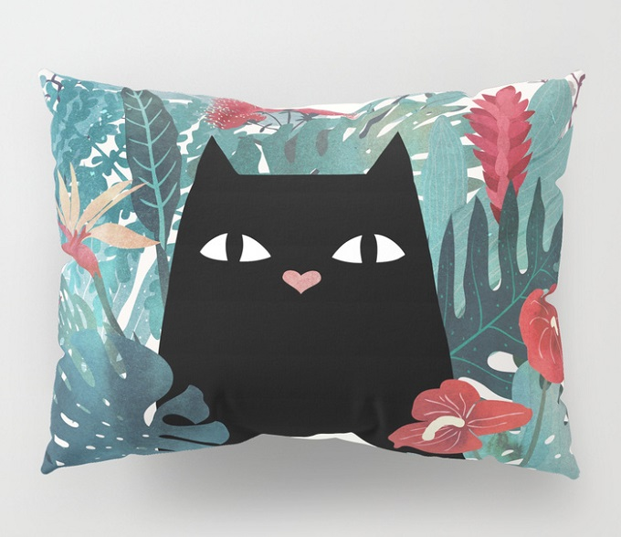 Popoki Pillow Cover - Little Clyde