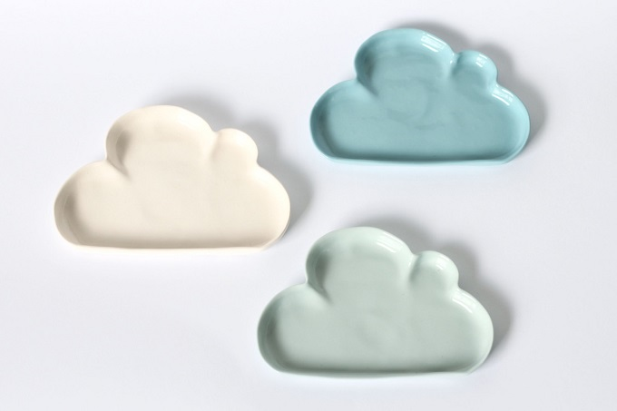 Porcelain Cloudy Dish - Urban Cartel