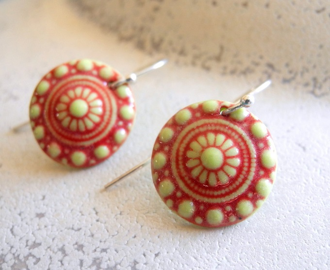 Porcelain Earrings - Noot & Zo