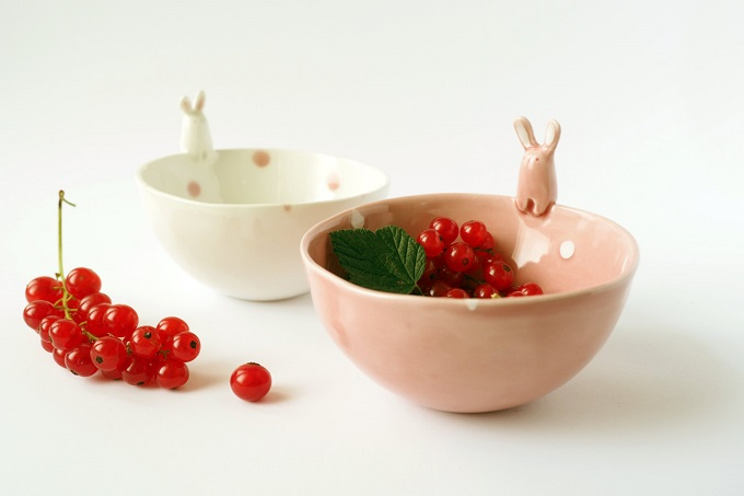 Rabbit Bowl - Tramai Ceramics
