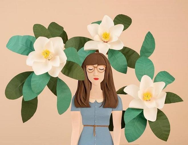 Paper Botanicals by Raya Sader Bujana
