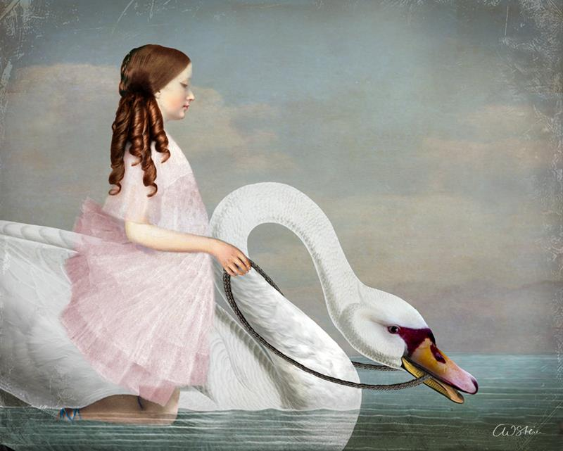Ride a White Swan, by Catrin Welz-Stein.
