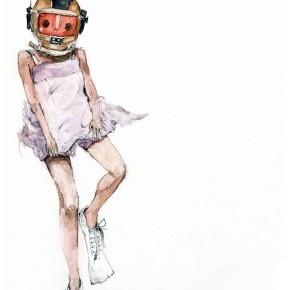 Robot Swimmer NB4. By Shari Weschler Rubeck, 2012.
