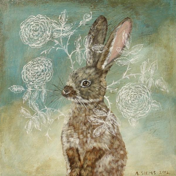 Rose Rabbit. By Anne Siems. 2012.