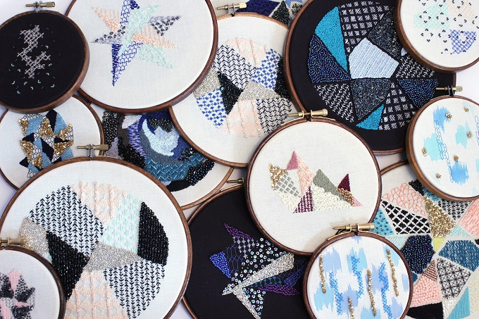 Embroidery by Rosie Wright