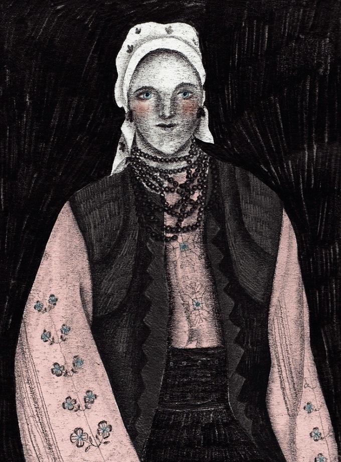 Ruthenian Woman - Julia Soboleva