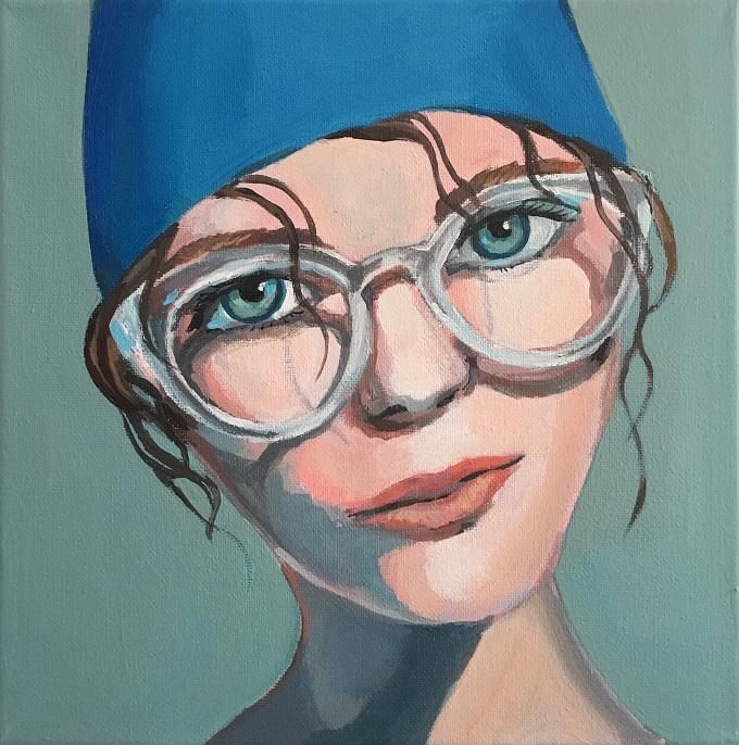 Painting by Sabrina Cabada