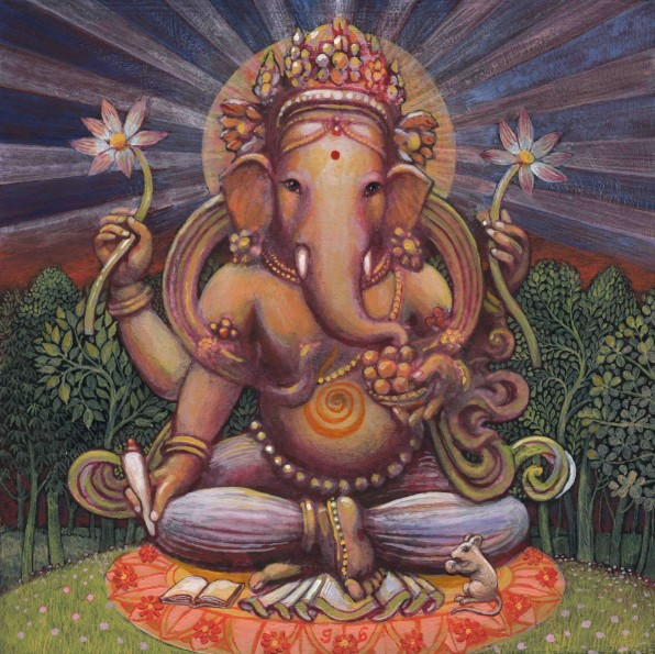 Shri Ganesha, by Graham Brown.