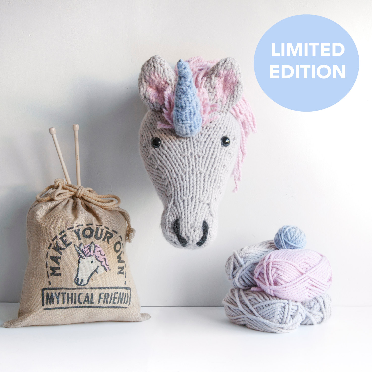 DIY Unicorn Knitting Kit / Sincerely Louise