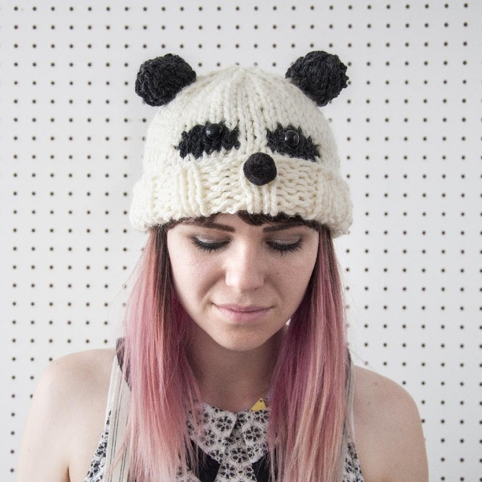 Panda Hat / Sincerely Louise