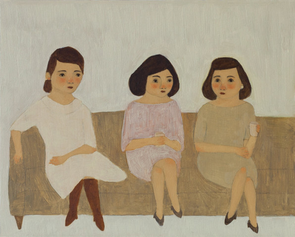 Sisters. By Kate Pugsley, 2010.
