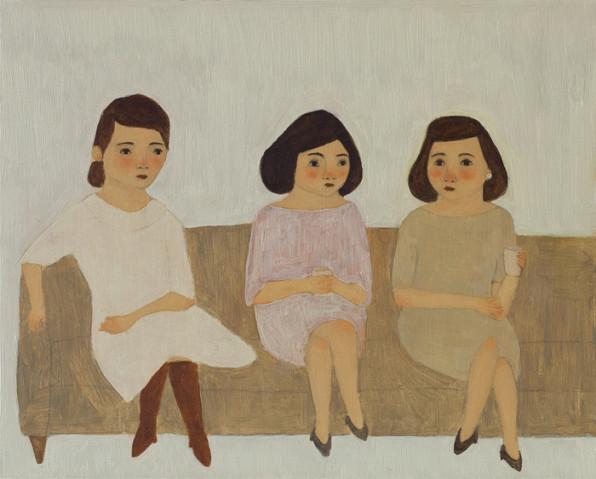 Sisters. By Kate Pugsley, 2010.