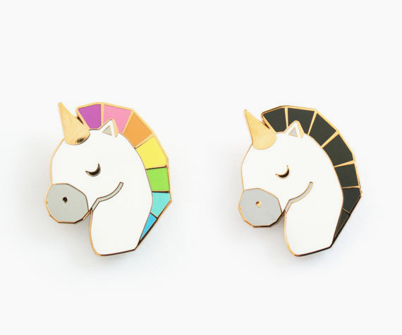 Unicorn pins / Sketch Inc