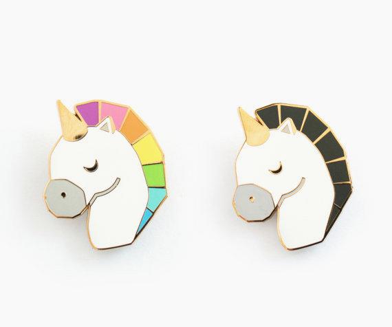 Unicorn pins / Sketch Inc