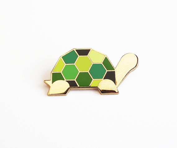 Tortoise pin / Sketch Inc