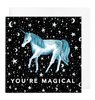 Unicorn Card - Papiro Press1