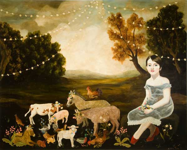 Small Animals, By Anne Siems.