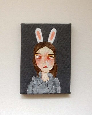 Canvas Painting - Pretty Little Thieves