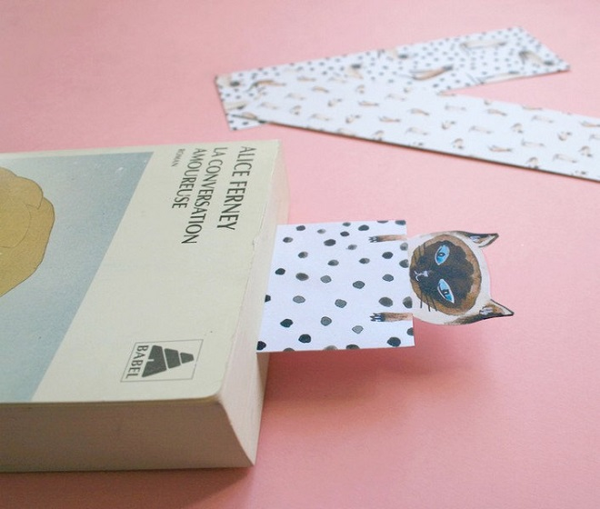 Siamese Cat Bookmarks / Sonia Cavallini
