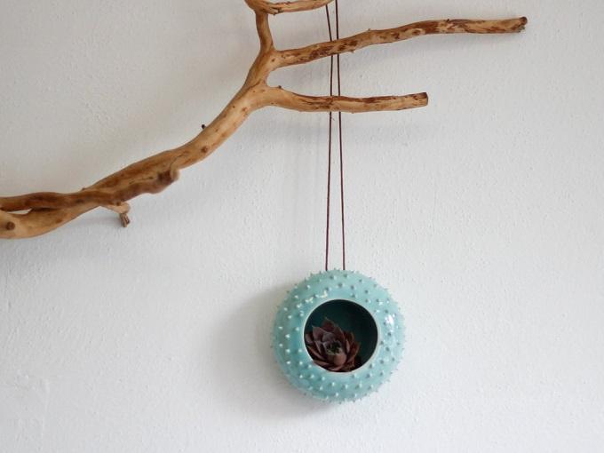 Spiky Hanging Planter - Olis Cupboard