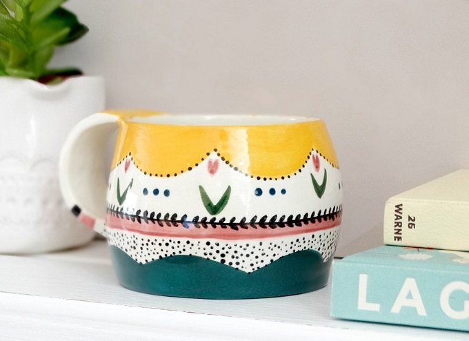 Ceramic Mug by The Minty Mountain