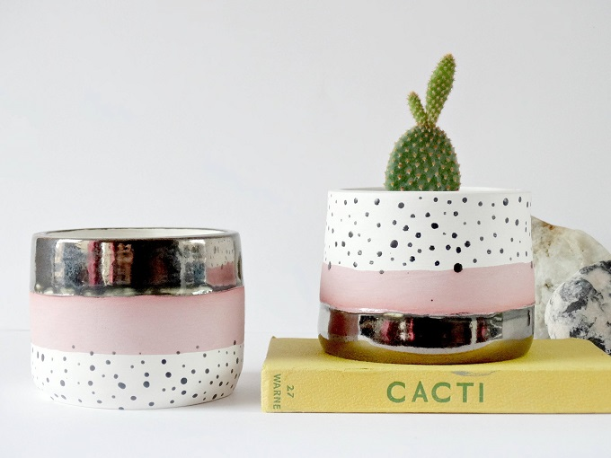Adorable Planters By The Minty Mountain Artisticmoods Com