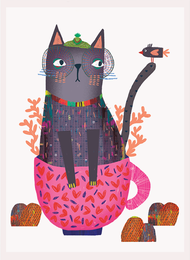 Illustration by Mojgan Ghare