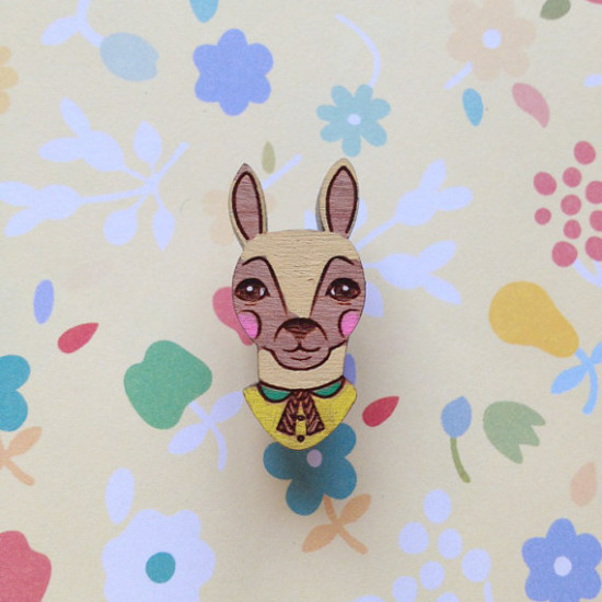The storybook rabbit Brooch2