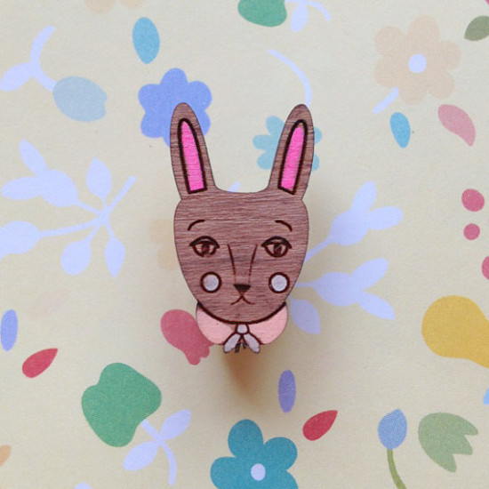 The storybook rabbit Brooch6