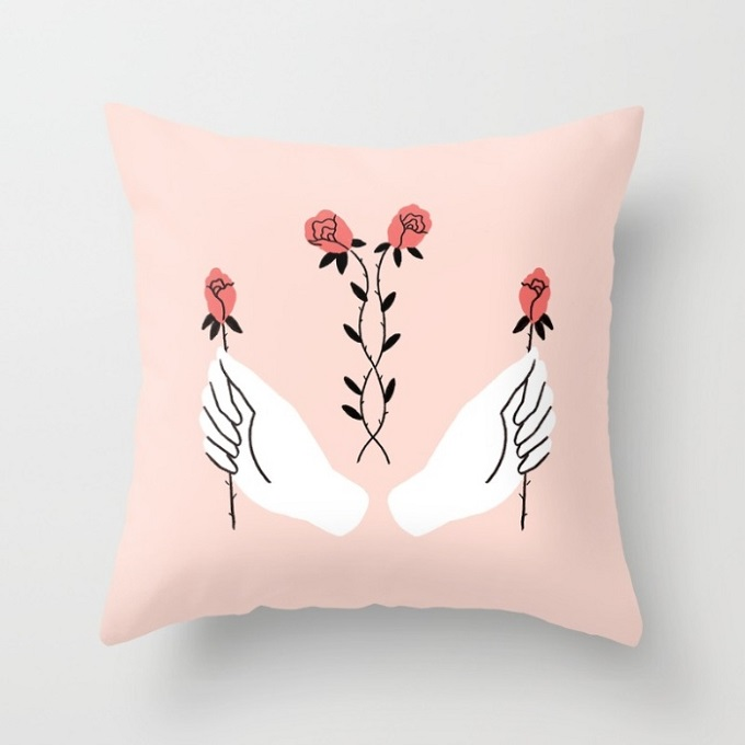 Throw Pillow Cover - Talulah Fontaine