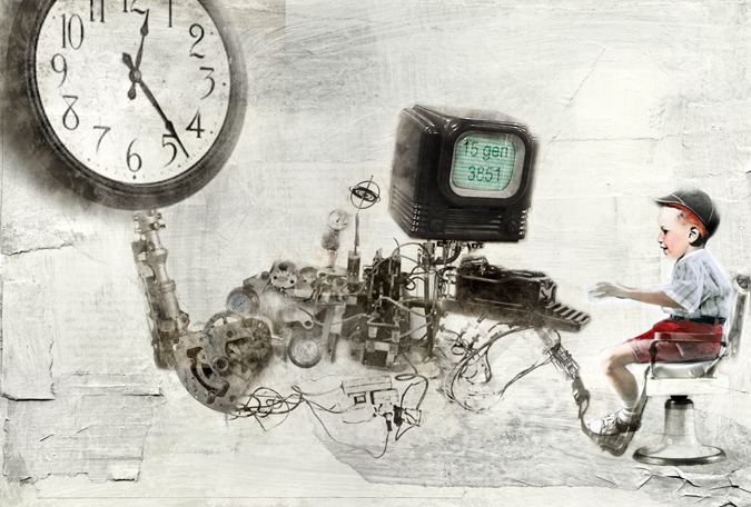 Time Machine. By Antonello Silverini, 2007.