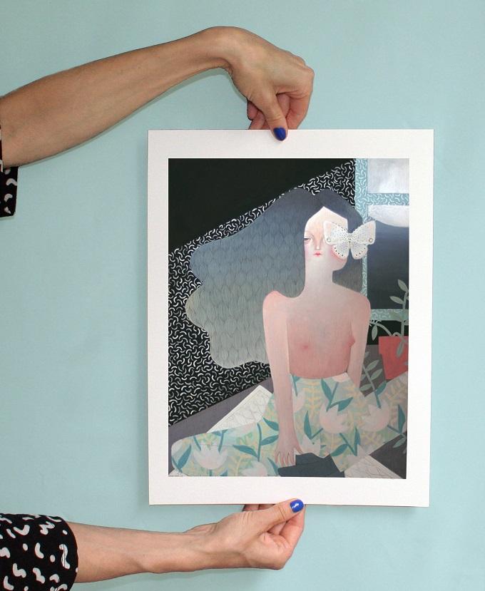 To Know A Woman Art Print - La Nonette