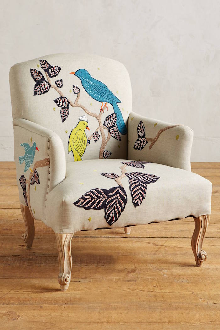 Treescape Dorrance Chair, Birds / Anthropologie
