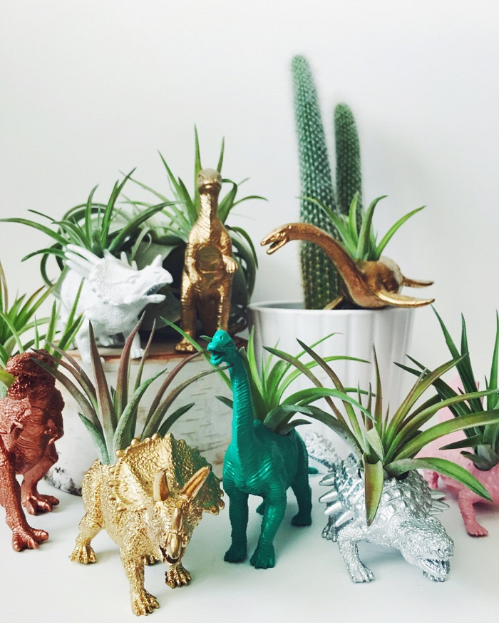 Dinosaur Planters / Two Trees Botanicals