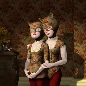 Wallflowers. By Ray Caesar, 2007.