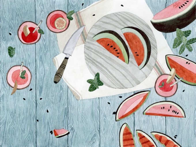 Watermelon Season - Yuliya