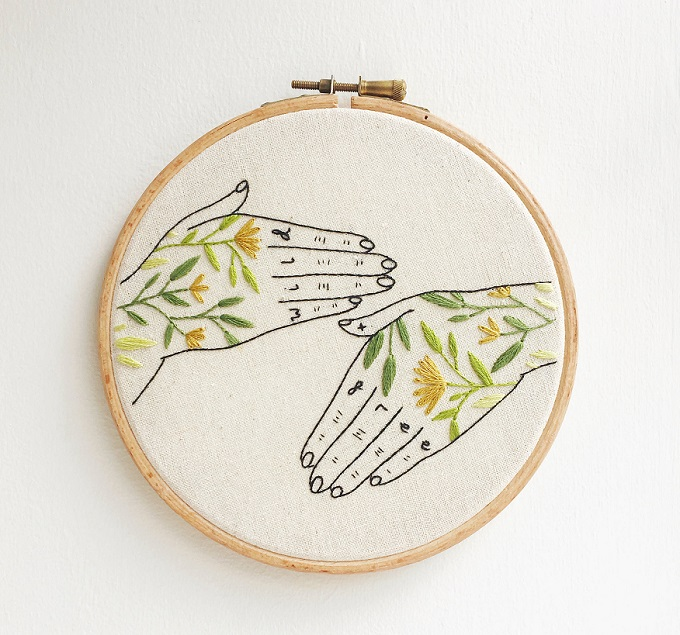 Wild + Free Tattoo Hands - Tusk and Twine