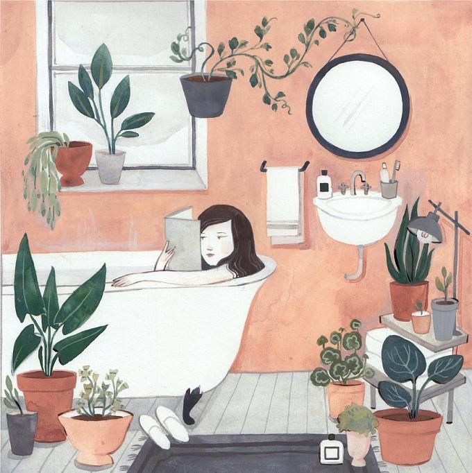 Winter Bathroom / Kelsey Garrity Riley