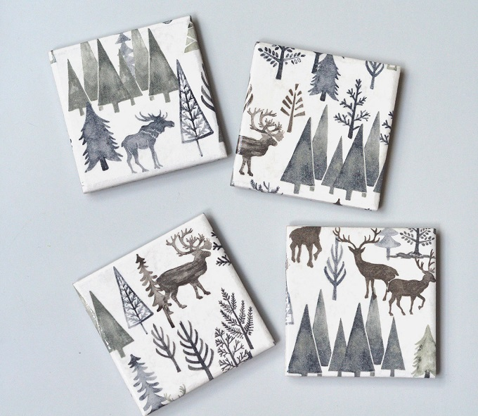 Winter Wonderland Coasters - Tillisimo