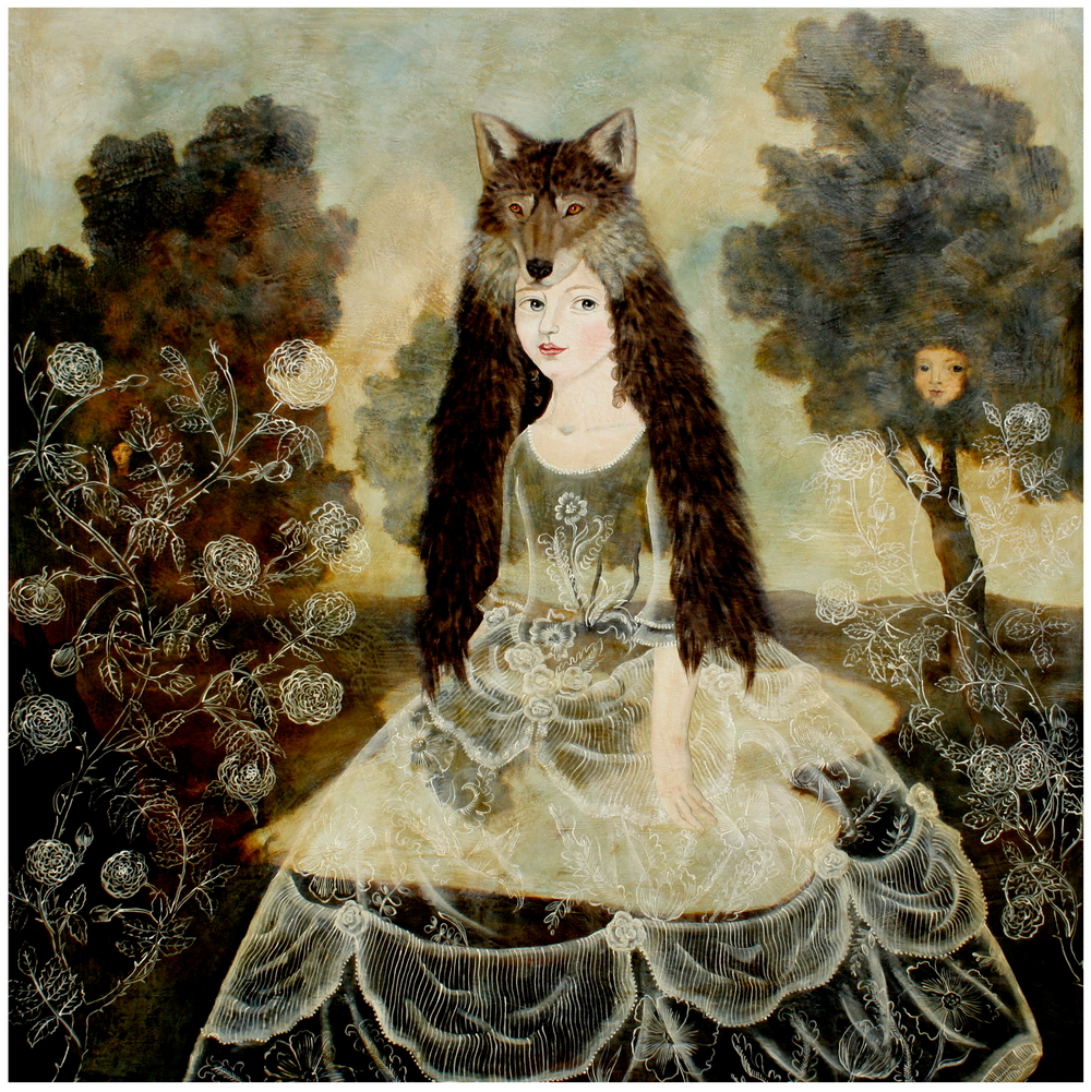 Wolf Girl. By Anne Siems, 2012.