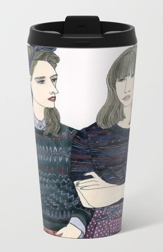 Travel Mug / Yuliya
