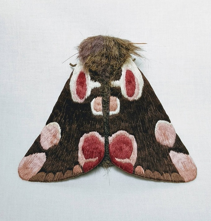 Fabric Sculpture by Yumi Okita