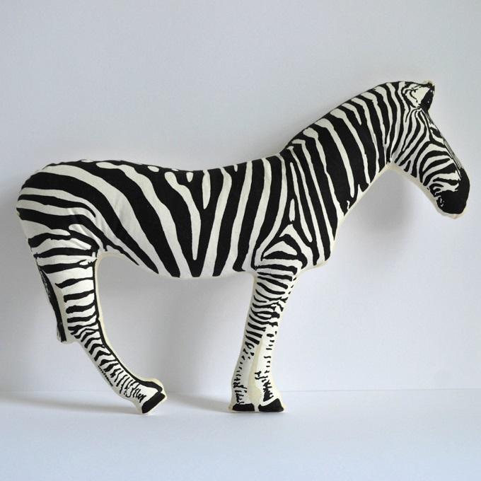 Zebra Pillow - Shannon Broder