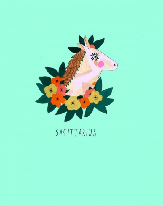 Zodiac Sign by Katy Smail