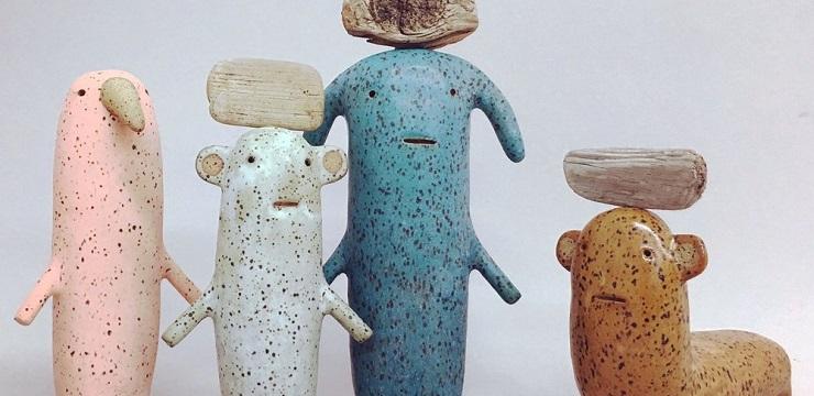 Ceramics by Godeleine de Rosamel