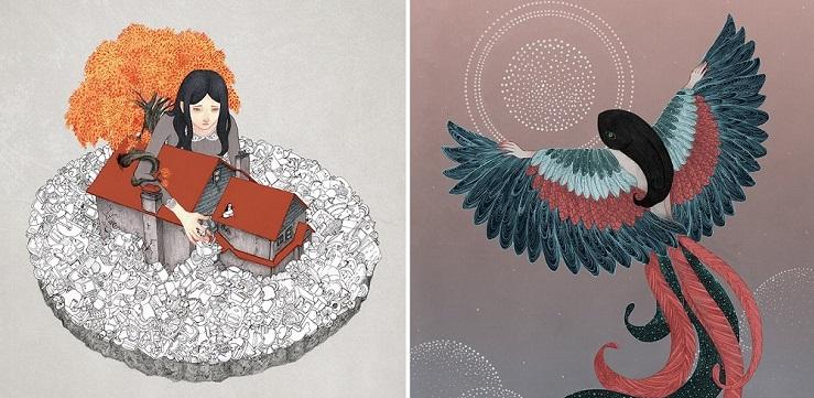 Narrative Illustrations By Shreya Gupta