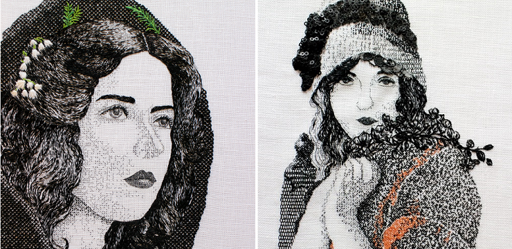 Embroidery by Lily Bloomwood