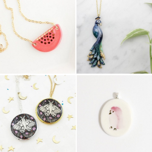Pretty pendants on ArtisticMoods