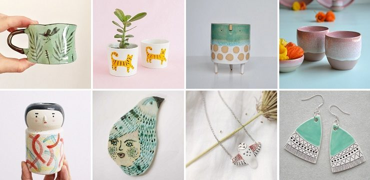 The Ceramic Gift Guide on ArtisticMoods