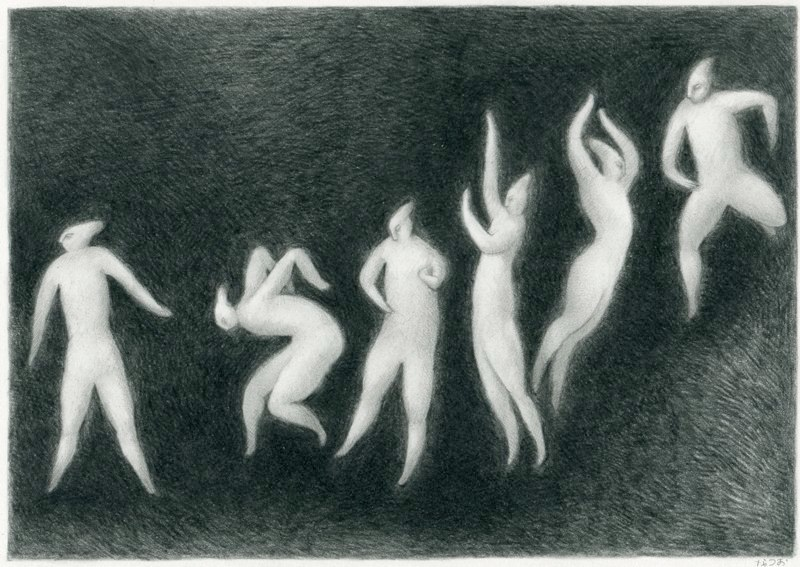Dance. By Natsuo Ikegami, 2013.